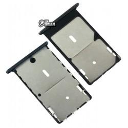 Держатель SIM-карты для Xiaomi Mi4c, черный