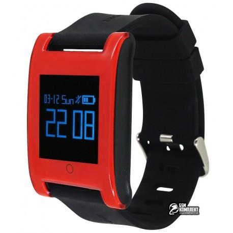 Смарт часы UWatch DM68, красные
