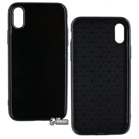Чехол-накладка Usams Case-Starry Series iPhone X Black