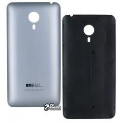 Задняя крышка батареи для Meizu MX4 5.3, серебристая