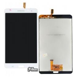 Дисплей для планшету Samsung T230 Galaxy Tab 4 7.0, T231 Galaxy Tab 4 7.0 3G, T235 Galaxy Tab 4 7.0 LTE, (версія Wi-Fi), білий,
