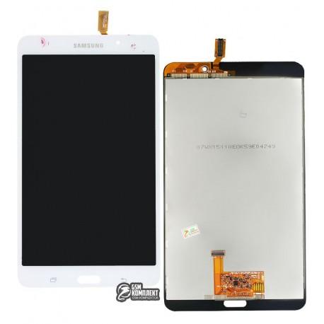 Дисплей для планшета Samsung T230 Galaxy Tab 4 7.0, T231 Galaxy Tab 4 7.0 3G , T235 Galaxy Tab 4 7.0 LTE, (версия Wi-Fi), белый,