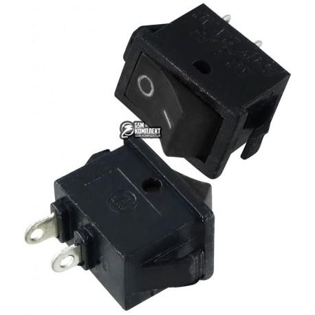ВыключательSMRS-101клавишный,микро(RS-II,KCD-6),черный