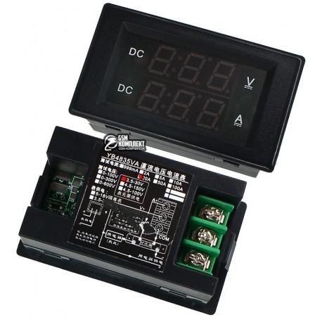 Вольтметр-амперметр цифровой до 0-30 В/20A