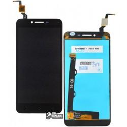 Дисплей для Lenovo A6020a46 Vibe K5 Plus, Lemon 3, черный, с сенсорным экраном (дисплейный модуль)