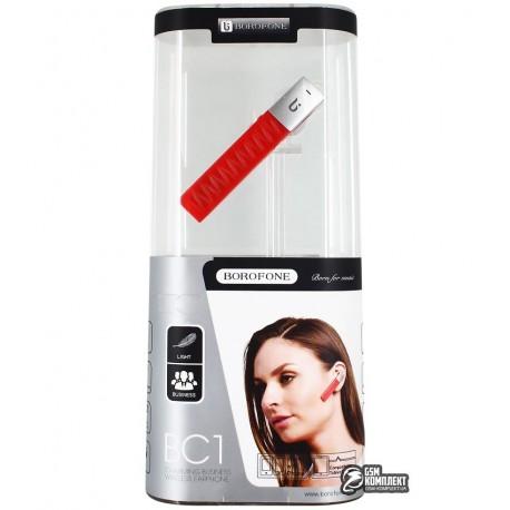 Bluetooth гарнитура BOROFONE BC1, красные