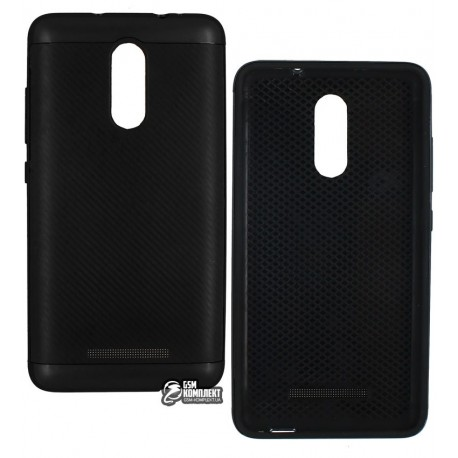 Чехол Ucase EASYBEAR Carbon для Xiaomi RedMi Note 3, силикон + пластик