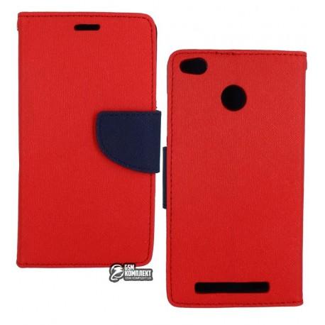 Чехол-книжка Mercury Xiaomi Redmi 3S Red