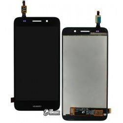 Дисплей для Huawei Y3 (2017), черный, с сенсорным экраном, original (PRC)