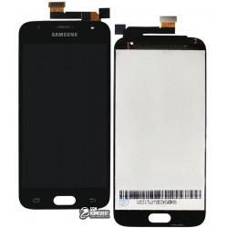 Дисплей для Samsung J330F Galaxy J3 (2017), черный, с сенсорным экраном, original (PRC)