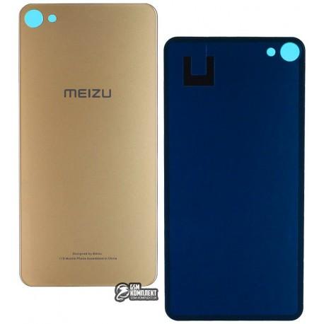 Задняя панель корпуса для Meizu U20, золотистая