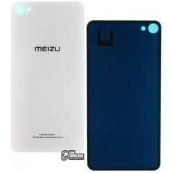 Задняя панель корпуса для Meizu U20, серебристая