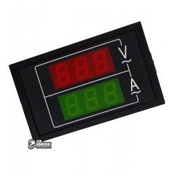Вольтметр-Амперметр цифровой AC 300V/100A встраиваемый переменный ток
