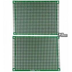 Макетная плата двухсторонняя 60x80 мм (IMAK)