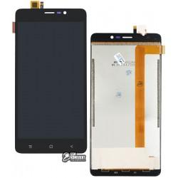 Дисплей для Blackview A8 MAX, черный, с сенсорным экраном (дисплейный модуль)