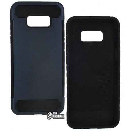 Чехол защитный для Samsung Galaxy S8 Plus, пластик с силиконовыми вставками