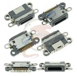 Коннектор зарядки для Apple iPhone 6S, черный