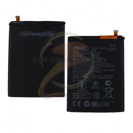 Акумулятор для Asus Zenfone 3 Max (ZC520TL) 5,2, Li-Polymer, 3,85 B, 4130 мАч, #C11P1611