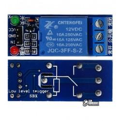 1 канальный релейный модуль для Arduino