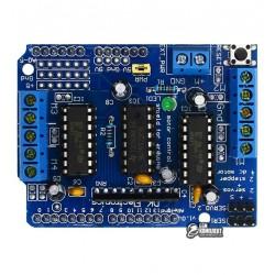 L293D Arduino motor control shield - драйвер управления шаговым двигателем