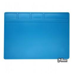 Силіконовий термостійкий килимок AIDA S-110, для пайки і розкладки запчастин, 280x200мм