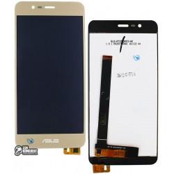 """Дисплей для Asus Zenfone 3 Max (ZC520TL) 5,2"""", золотистый, с сенсорным экраном"""