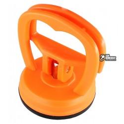 Съёмник-присоска с рычагом AIDA d=55 мм HQ (оранжевая) для демонтажа тачскринов и дисплейных модулей