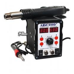 Термовоздушная паяльная станция AIDA 898D+ паяльник с нагревательным элементом Hakko