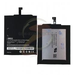 Аккумулятор BM33 для мобильного телефона Xiaomi Mi4i, Li-Polymer, 3,84 B, 3030 мАч