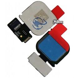Шлейф для Huawei P10 Lite, для сканера отпечатка пальца (Touch ID), синий