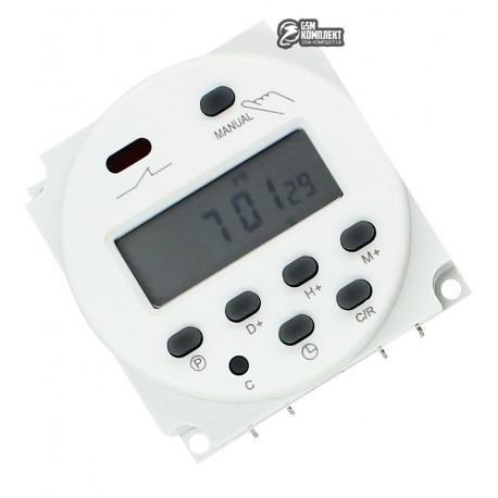 Недельный программируемый таймер CN101A 220v, управляющее напряжение 12V