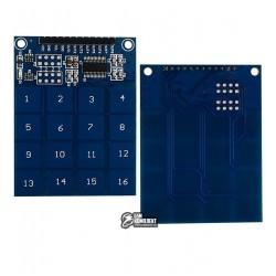 Сенсорная 16-ти кнопочная клавиатура TTP229