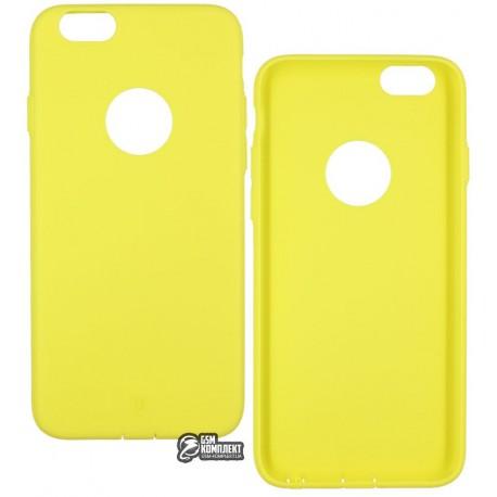 Чехол Baseus Mousse для Iphone 6/6S, Lemon yellow