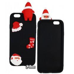 Чехол защитный для iPhone 6 / 6s силикон, новогодний