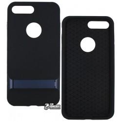 Чехол защитный Rock Royce Series с подставкой для iPhone 7 Plus, синий