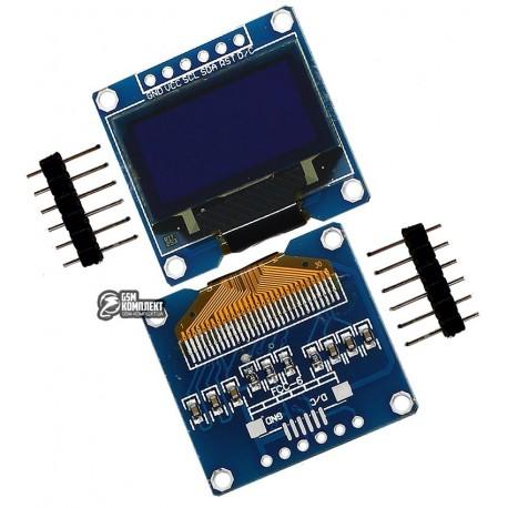 Модуль OLED 128x64 0.96 дюйма, SPI интерфейс, белый
