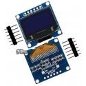 Дисплей OLED 128x64 0.96 дюйма, SPI интерфейс, белый