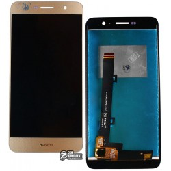 Дисплей для Huawei Enjoy 5, Y6 Pro, золотистый, с сенсорным экраном (дисплейный модуль)