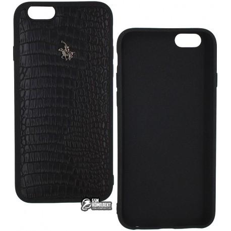 Чехол защитный Polo Fashion для iPhone 6, 6s, силиконовый