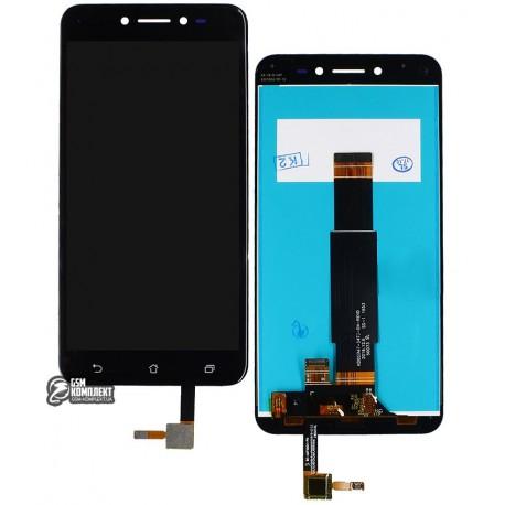 Дисплей для Asus ZenFone Live (ZB501KL), чорний, з сенсорним екраном