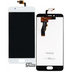 Дисплей для Meizu M5s, белый, с сенсорным экраном, original (PRC)