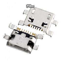 Коннектор зарядки для LG D335 L Bello Dual, H500 Magna Y90, H502 Magna Y90, K4 K120E, K4 K121, K4 K130E, V10 H960A