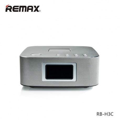 Колонка Remax RB-H3 3 in 1 BT3.0 Speaker with Alarm Clock\ Silver