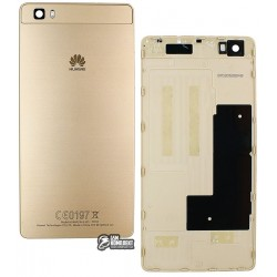 Задняя панель корпуса для Huawei P8 Lite (ALE L21), золотистая