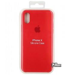 Чехол защитный Silicone Case для Apple iPhone X