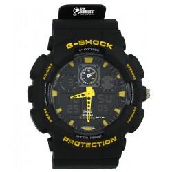 Часы наручные G-shock GA-100, с RGB подсветкой
