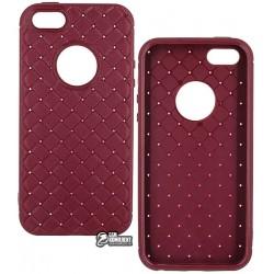 Чехол защитный Braided для iPhone 5 / 5s / SE, силиконовый