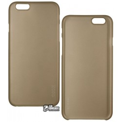 Чехол ультратонкий Hoco для iPhone 6/6S, пластиковый, черный