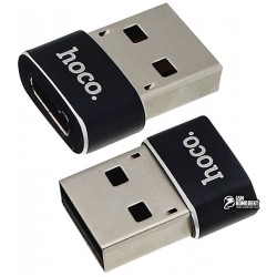 Переходник Hoco UA6 Type-C (female) на USB (male)