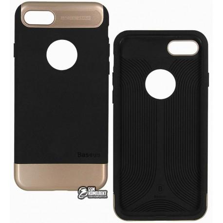 Чехол-накладка Baseus Taste Style Series для iPhone 7 черная/Gold